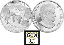 2011 'Winter Scene' Proof $20 Sterling Silver (12770) (OOAK)