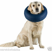 Dog inflatable Collar Buster Cone recovery surgery S, Medium, Large ,X Large