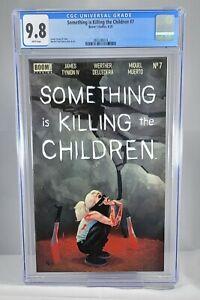 Something is Killing the Children #7 CGC 9.8 Erica Slaughter Boom!