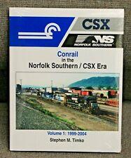 MORNING SUN BOOKS 1708 - CONRAIL in the NS / CSX Era In Color Vol. 1 - HC 128 Pg