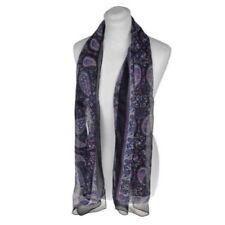 Écharpes et châles avec des motifs Cachemire en mousseline pour femme