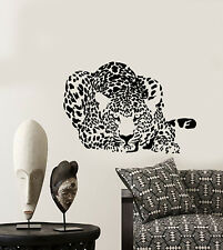 Vinyl Wall Decal Leopard African Predator Animal Spots Stickers (3066ig)