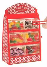 Mini Candy Drawer Dispenser Holds Gumball Jellybean Candy Treat Station Holder