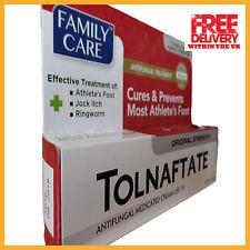 Tolnaftate 1% Anti-Fungal Cream, Cures & Prevents Most Athlete's Foot, 1oz