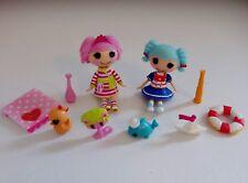 Lalaloopsy Bijoux Bubble Bath & marina ancres mini poupées