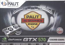Palit GeForce GTX 570 SONIC 1280MB GDDR5 320B DUAL-DVI HDMI DP