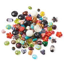 1 Box Mixed Handmade Lampwork Glass Beads DIY Jewelry Making 11~29x11~25x11~15mm