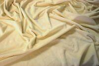 Soft Plush Cuddlesoft Velboa Minky Fleece Fabric NEW CREAM