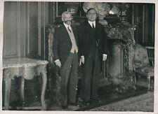 PARIS c. 1930 - Édouard Renard - Paul Boujou Préfets de la Seine - PRM 261