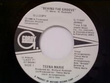"TEENA MARIE ""BEHIND THE GROOVE / SAME"" PROMO MINT 45"