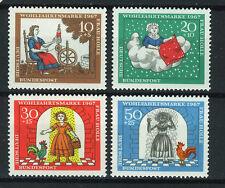 ALEMANIA/RFA WEST GERMANY 1967 MNH SC.B426/B429 Frau Holle,tale by Grim