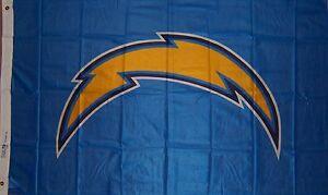 NEW SAN DIEGO CHARGERS LIGHTING BOLT 3X5ft FLAG premium licensed usa seller