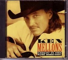 Ken Mellons Lookin in Same w/ POSTER PROMO CD Single