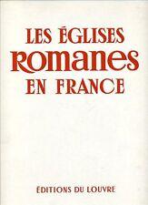 MAURICE GIEURE, EGLISES ROMANES EN FRANCE : NORD DE LA LOIRE LES EGLISES ROMANES