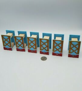 Railway Track Risers Supports Lot x6 works w Thomas & Friends Wooden Train, BRIO