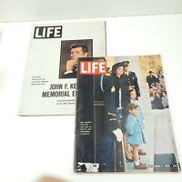 JFK Life Magazine LOT of 2 J.F.K Memorial Edition/Dec 6,1963 Edition