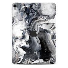 Skins Decal Wrap for Apple iPad Pro 11 2018 Marble White Grey Swirl Beautiful