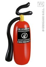New Inflatable Red Fire Extinguisher Large 50CM Costume Prop Emergency Fireman