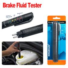 Brake Fluid Liquid Tester Pen Car Oil Moisture Diagnostic Tool 5 LED For DOT3/4