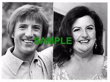 ORIGINAL PRESS PHOTOGRAPH ROY CASTLE AND JANET WEBB 1975