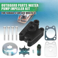Water Pump Impeller Repair Kit Replace For Yamaha 4/5HP Outboard 6E0-W0078-A2 *