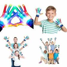 Led Gloves Skeleton Flashing Light Up Toys For Boys Girls Children Teenager Hall