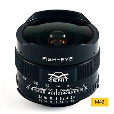 Lens Zenitar f2.8/16mm Fish Eye Mount m42
