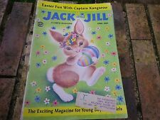 JACK and JILL APRIL 1960 USA VERY GOOD, TRES BON ETAT, with EASTER GAMES
