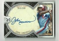 2018 Topps Museum autographed baseball card Andre Dawson Montreal Expos 252/299
