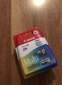 Original Canon PG540 & CL541 Black/colour Ink Cartridge for Pixma