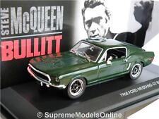BULLITT FORD MUSTANG GT STEVE MCQUEEN 1968 MODEL CAR 1/43 FILM PACK ISSUE K8Q(=)
