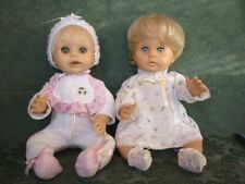 Vintage 60s 70s First Love Baby Dolls Pair Pedigree Marx Original and New Face