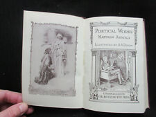 Poetical Works of Matthew Arnold illustrated by AA Dixon Collins Leather Bound