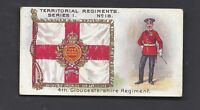 TADDY - TERRITORIAL REGIMENTS - #18 4TH GLOUCESTERSHIRE REGIMENT