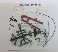 SUPER SHELLS 60s NYLON STEERING UNIT S73 & 'POP IN' SPORTS/SALOON CHASSIS 1.32