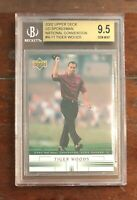 Tiger Woods 2002 Upper Deck Spokesman Nation Convention #N-11 - BGS 9.5 not PSA