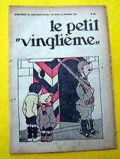 TINTIN HERGE PETIT VINGTIEME 1931 NO 40 BON ETAT