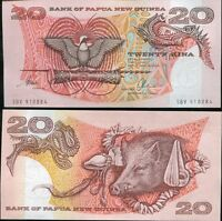 PAPUA NEW GUINEA 20 KINA ND 1996 P 10 b UNC