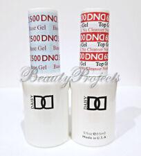 DND Daisy Soak Off Gel Polish Top Coat 600 & Base Coat 500 LED/UV 15ml gel duo