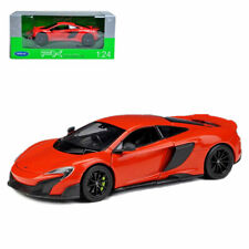 Welly 1:24 Mclaren 675LT Metal Diecast Model Supersport Car New in Box