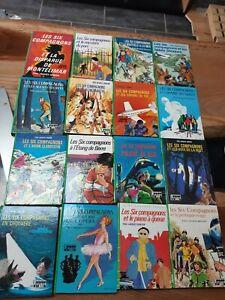 Lot de livres les Six compagnons Bibliothèque Verte