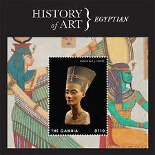Gambia- 2013 History of Art Stamp- souvenir sheet SC#3501