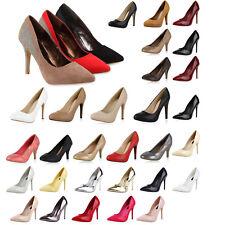 892523 Damen High Heels Pumps Elegant Office Top
