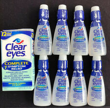 9 Clear Eyes Complete 7 Symptom Relief Eye Drops 0.50 oz 04/20 20/21+