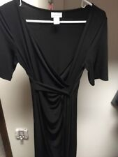 maternity black dress size 8/small - motherhood  brand