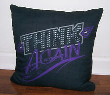 WWE Shop Wrestling Official PAIGE Throw Pillow THINK AGAIN Divas NXT