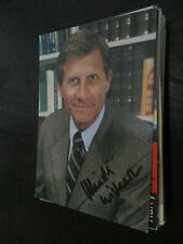 Ulrich Wickert TV Musik Film original signierte Autogrammkarte