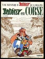 ASTÉRIX LE GAULOIS   ASTÉRIX EN CORSE  GOSCINNY / UDERZO  LOMBARD  EO 1973