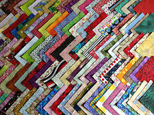200 coupons de tissu patchwork multicolores