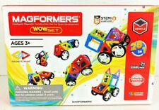 Magformers Vehicle Wow Set (16 Pc) Magnetic Building Blocks, Educational Set